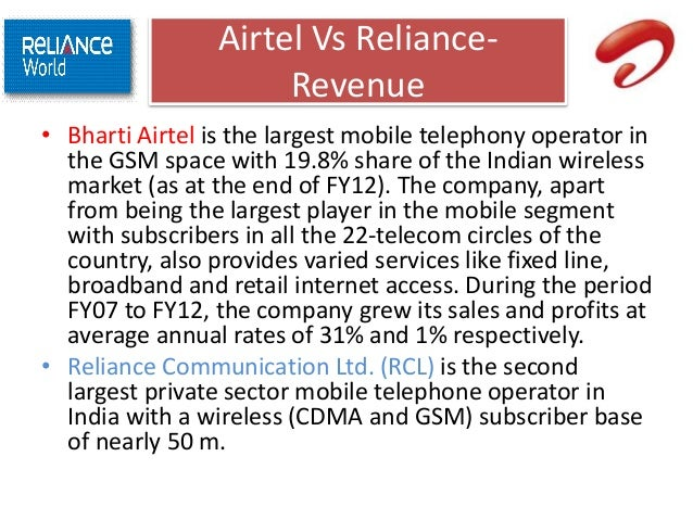 conclusion of airtel company Bharti airtel has more than 65 million customers the company possesses a customized version of the google search engine which will enhance broadband services to.