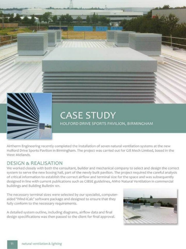 natural ventilation - Airtherm case study