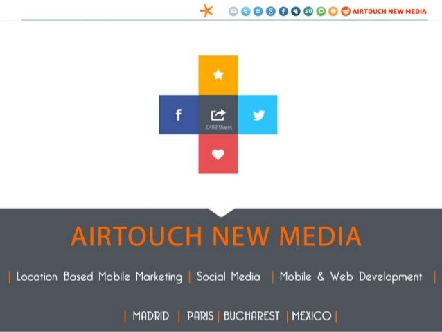 AIRTOUCH NEW MEDIA Location Based Mobile Marketing | Social Media | Mobile & Web Development MADRID | PARIS | MEXICO | BUC...