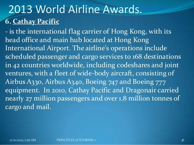 Air transport - Cathay pacific head office ...