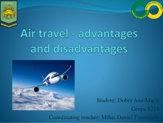 advantages and disadvantages of cheap air travel