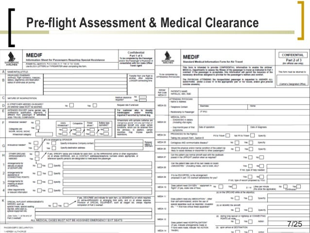 Air travel and the ambulatory patient 2014 725 pre flight assessment medical clearance thecheapjerseys Choice Image