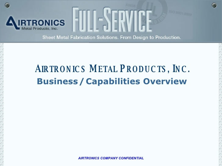 Business   /   Capabilities Overview