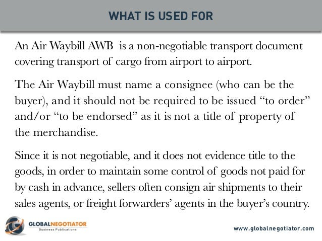 air waybill awb what is used for sender and recipient practical advice document template 2