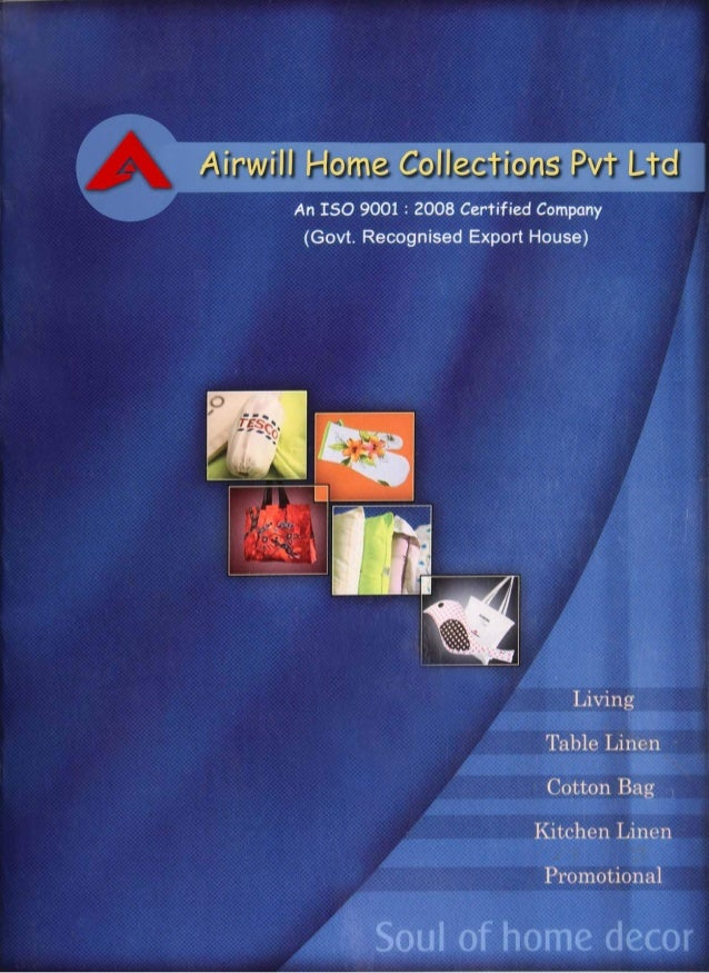 Airwill Home Collections Private Limited, Karur, Home Furnishing Items
