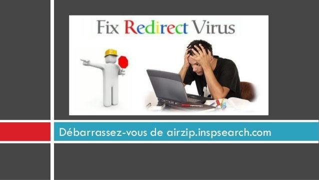 Débarrassez-vous de airzip.inspsearch.com