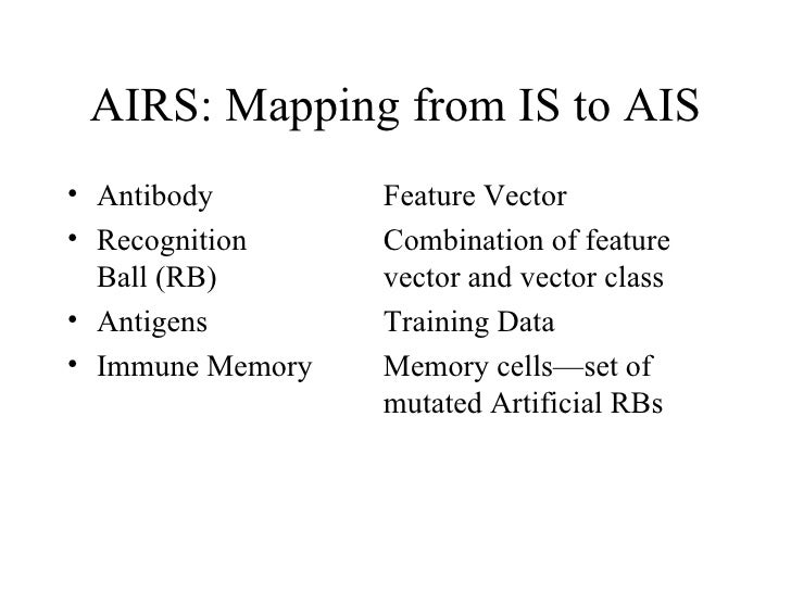Ais Machine Learning