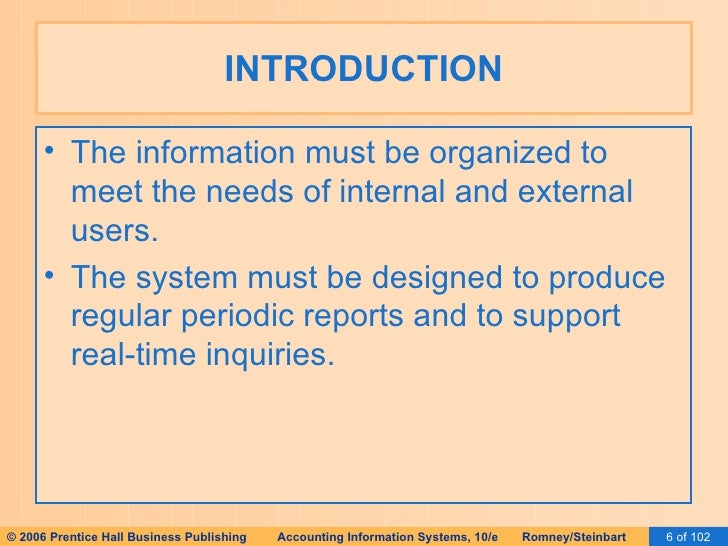 Information needs for an ais