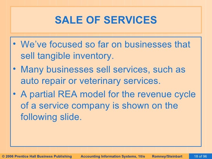 Ais romney 2006 slides 17 special topics in rea 18 sale of services ccuart Gallery