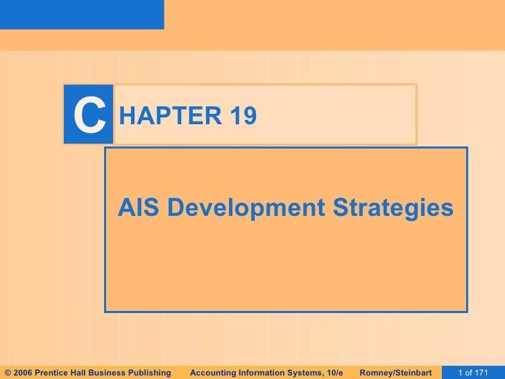 HAPTER 19 AIS Development Strategies