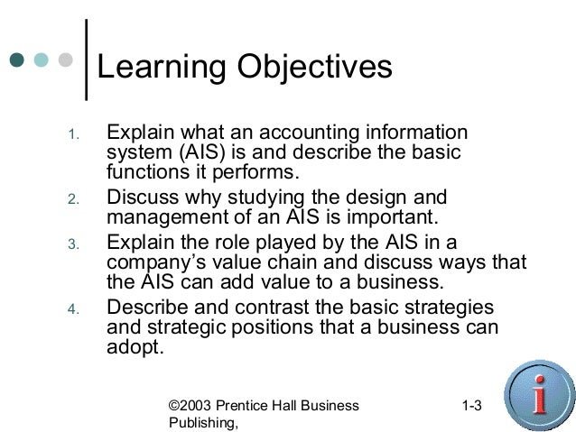ACCOUNTING DOC (AIS) Slide 3