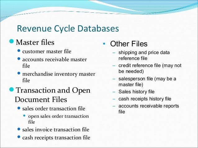 Pinnacle: Accounts Receivable And Master File