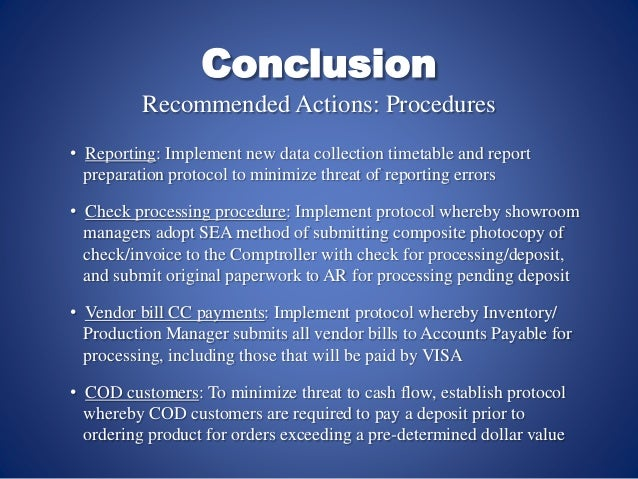 conclusion and recommendations stress The conclusion of this case study emphasizes that the company 54 recommendations for health and the coca-cola company is the world's largest.