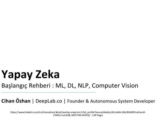 Yapay Zeka Güvenliği : Machine Learning & Deep Learning & Computer Vision Security Slide 3