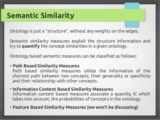 Information Retrieval using Semantic Similarity