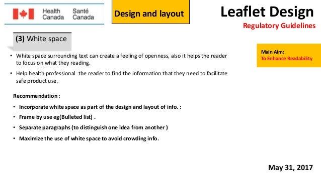 Leaflet Packaging Design Regulations Using Adobe Illustrator