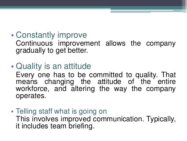 """the principles of total quality management tqm in the world market Imgplumbing world  people make quality — total quality management (tqm)   to the values of quality assurance have an assured market lead  the  principles of quality assurance will mean less """"buffer"""" or """"fl oat"""" time is."""
