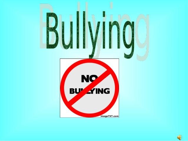 Você sabe o que é bulling? Bulling é uma discriminação, feita por alguns cidadãos contra uma única pessoa.