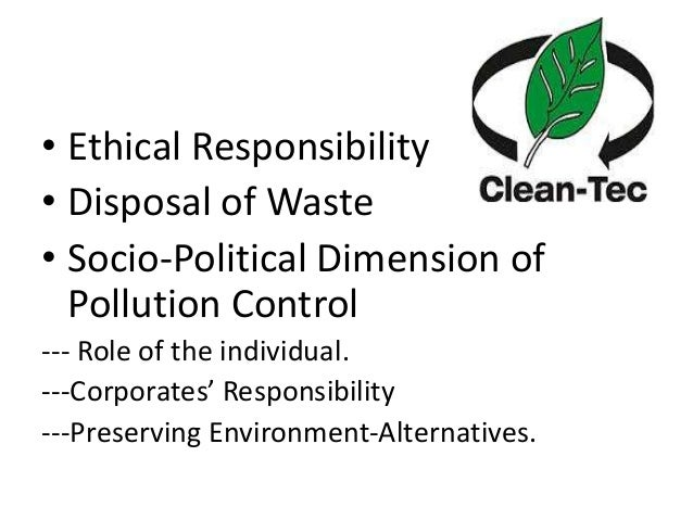 role of individual to protect environment