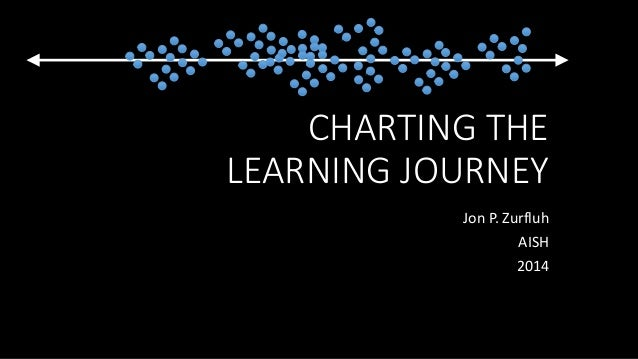CHARTING THE LEARNING JOURNEY Jon P. Zurfluh AISH 2014