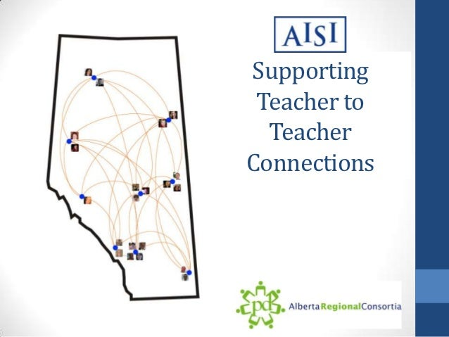 Supporting Teacher to  TeacherConnections