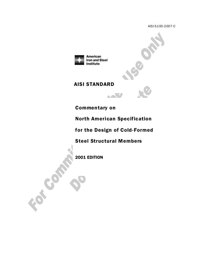 AISI S100 07 PDF