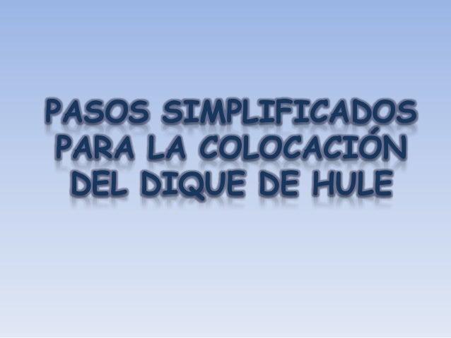 DETERMINAR EL CAMPO OPERATORIO                  Aislamiento                     Aislamiento                 anterior      ...