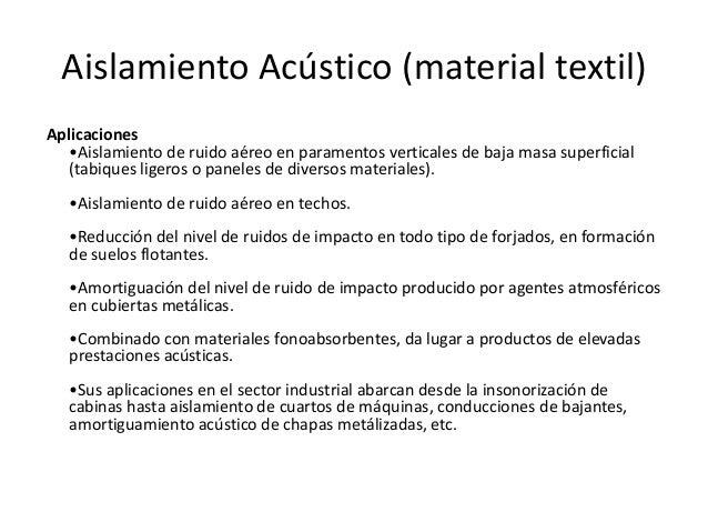 Aislamiento acustico - Aislamientos acusticos para paredes ...
