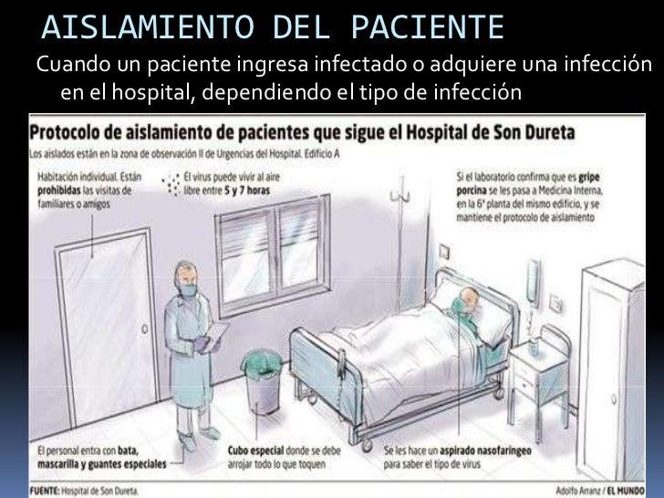 Aislamiento hospitalario for Cuarto quirurgico