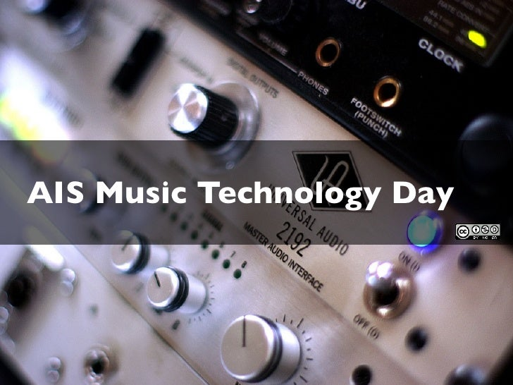 AIS Music Technology Day