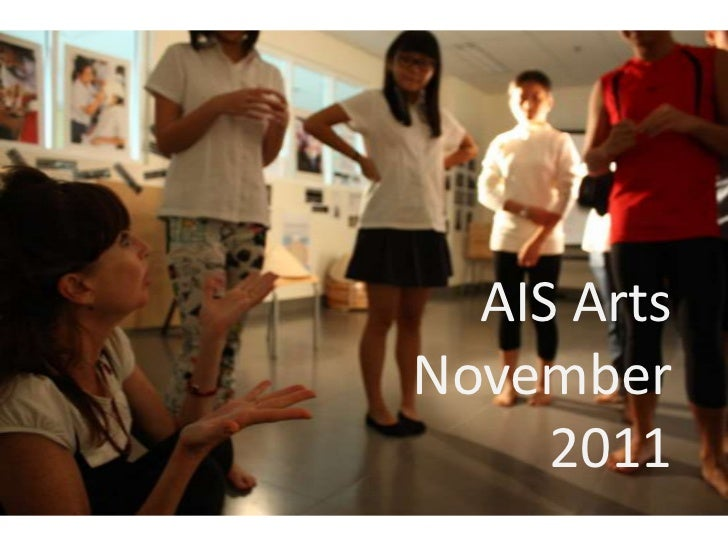 AIS ArtsNovember     2011