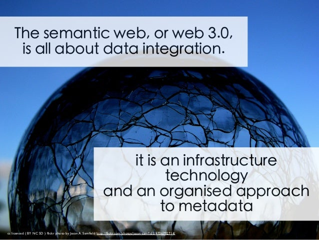 "you won't see a ""Web 3.0 inside' label Much more than just BIG DATA and cloud storage!"