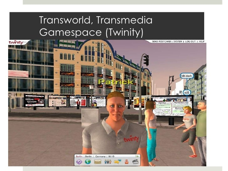 Transworld, Transmedia Gamespace (Twinity)