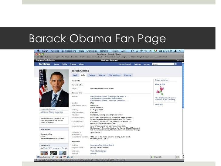 Barack Obama Fan Page