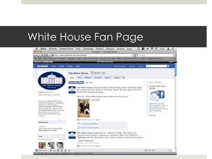 White House Fan Page
