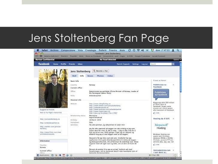 Jens Stoltenberg Fan Page