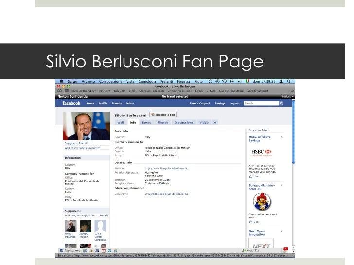 Silvio Berlusconi Fan Page