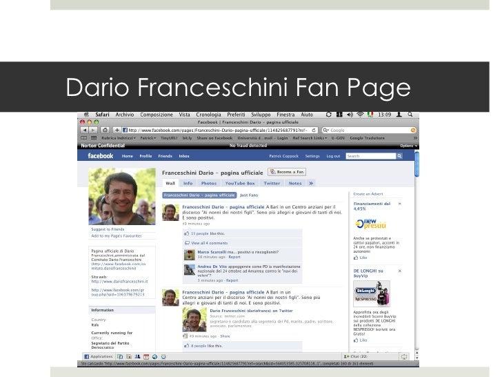 Dario Franceschini Fan Page