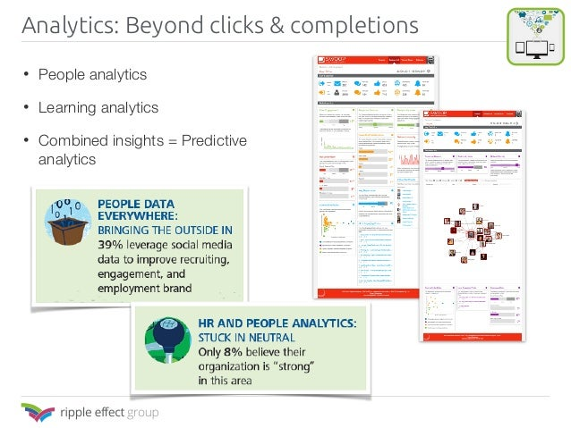 Analytics: Beyond clicks & completions
