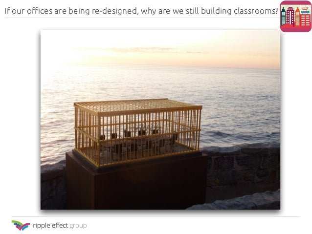 If our offices are being re-designed, why are we still building classrooms?