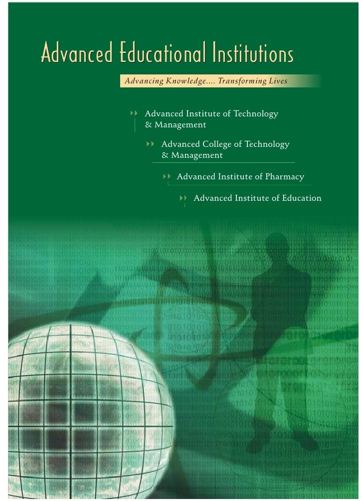 Advanced Educational Institutions (AEI)