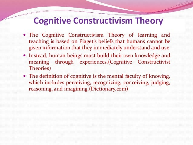 an analysis of the learning theory of radical constructivist in education Education theory/constructivism and social constructivism in the classroom  in social constructivism tutors and peers play a vital role in learning social constructivism in the classroom reciprocal teaching  list of learning theories and how they apply to practice.