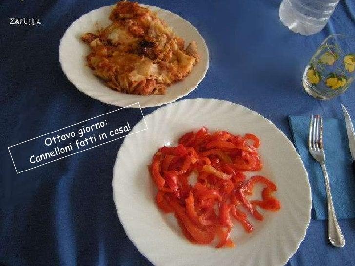 Ma, dopo un pranzo del genere, la cena è per forza sguarnita: abbiamo scelto la  frutta , anziché la verdura (anche se dov...