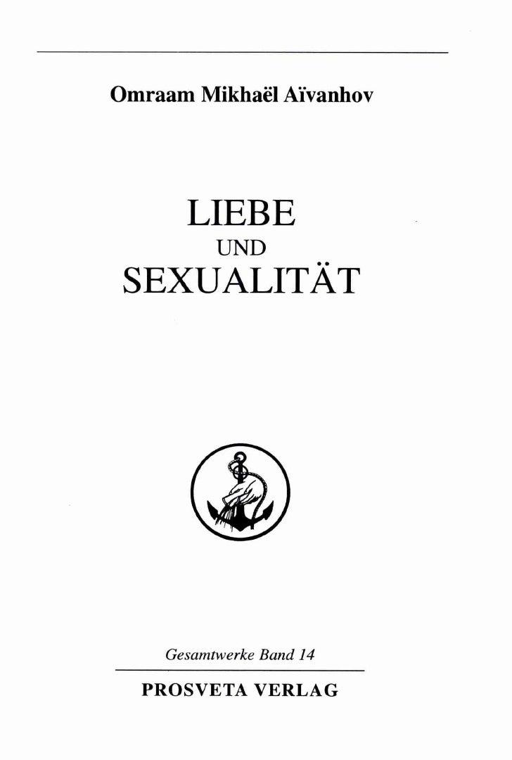 Aivanhov - Liebe und Sexualität (InhaltsVZ)