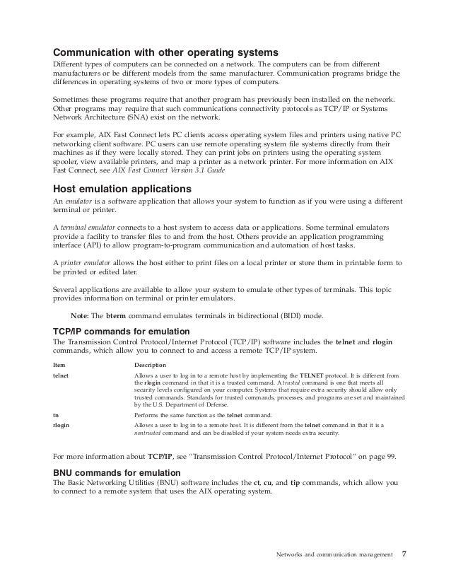 Aix networking commadmndita pdf