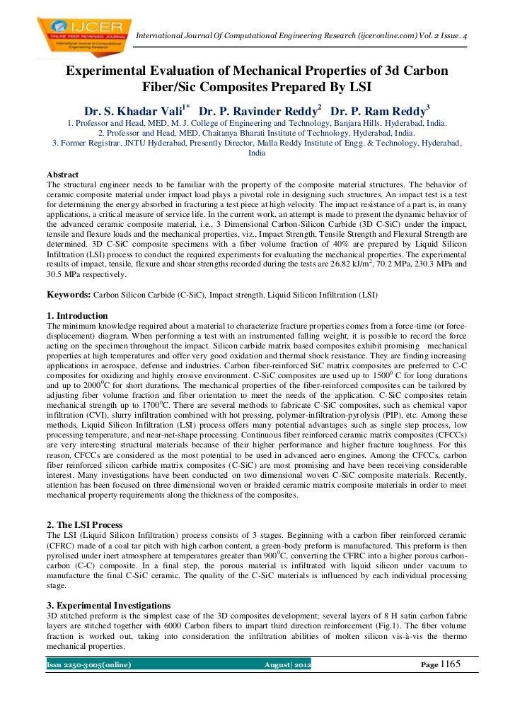 International Journal Of Computational Engineering Research (ijceronline.com) Vol. 2 Issue. 4     Experimental Evaluation ...