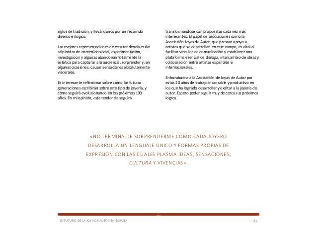 1be99393eead ... esquemas determinados por  21. EL FUTURO DE LA JOYA DE AUTOR EN ESPAÑA  ...