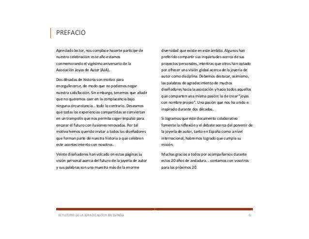 9ed410912c3c ... 5. EL FUTURO DE LA JOYA DE AUTOR EN ESPAÑA ...