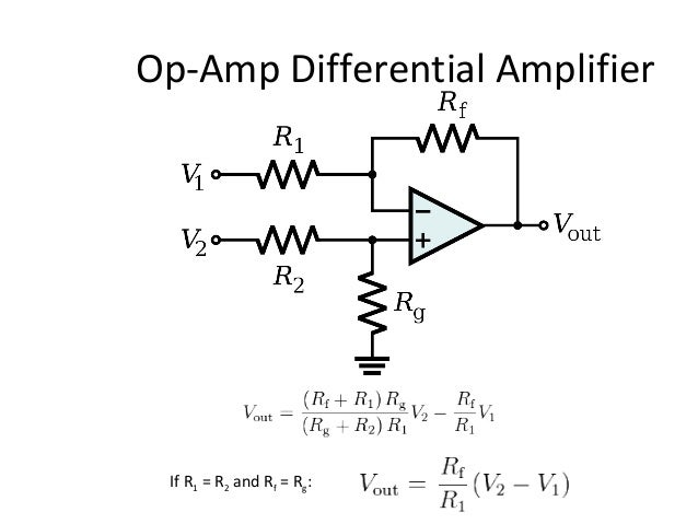 Ajal Op on voltage amplifier op amp circuit