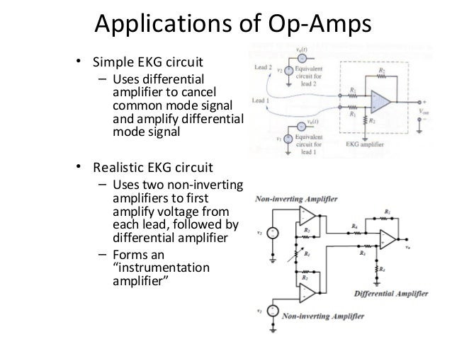 Wiring Circuit Diagram Of Operational Amplifier Application Circuit